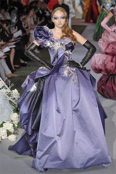 """modelmofos: """" Lily Cole @ Christian Dior Haute Couture F/W Paris """" Christian Dior Couture, Dior Haute Couture, Couture Fashion, Runway Fashion, Fashion Show, Christian Lacroix, Paris Fashion, Fashion Fashion, Jhon Galliano"""