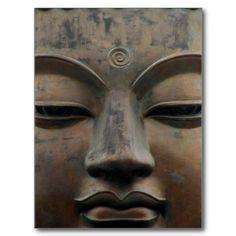 buddha tian tan postcard