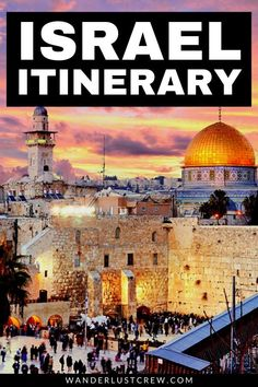 If you're visiting for only a few days, this 5 day Israel itinerary will allow you to see as much as possible in the short time you have. Places To Travel, Travel Destinations, Places To Visit, Travel Guides, Travel Tips, Time Travel, Travel With Kids, Family Travel, Family Adventure