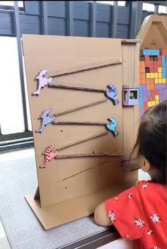Diy Crafts For Kids Easy, Diy Crafts Hacks, Diy Home Crafts, Fun Crafts, Toddler Learning Activities, Craft Activities For Kids, Infant Activities, Preschool Activities, Diy Toys