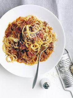 Barbara Lynch's Tagliatelle Bolognese   Recipe   Tagliatelle ...