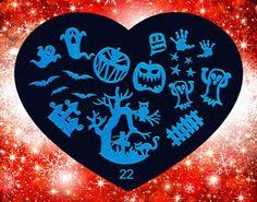 Nails - NAIL ART IMAGE STAMPING PLATE (HEART-SERIES) for sale in Virginia (ID:217271061) Nail Art Images, Stamping Plates, Pedicures, Acrylics, Virginia, Nails, Heart, Creative, Licence Plates
