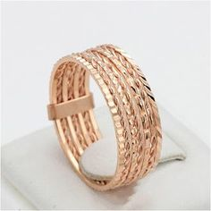Promise Ring Rose Gold Plated Multiple Rings, USD15.99 Before Discount, FREE Shipping, FREE Returns