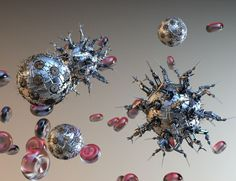 This is a representation of nanotechnology. Technological advancement forces our world to evolve and adapt. Some people welcome the advancement while others cling to the past, afraid of what may come as a result of new innovations. Regardless of our readiness for it, it will undoubtedly change our culture, society, and economy (Robinson, 29).