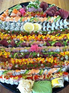Amazing Sushi Platter!!