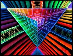 Original painting by Neil Gibson: Prism UV by PiNeilCreations