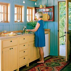 small beach house kitchen - Google Search