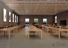 Image of the first #Apple Store in #Berlin surfaces before its official opening. #AppleStore