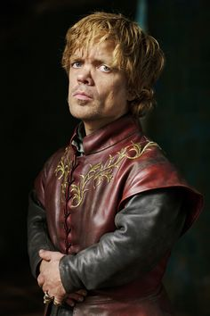 Love Tyrion Lannister's leather tunic! From HBO's Game of Thrones. My next mini will most likely be wearing this color :)