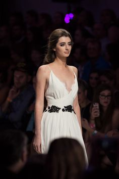 Stunning gown from Stephanie D. Couture at FashioNXT 2014 #FashioNXT