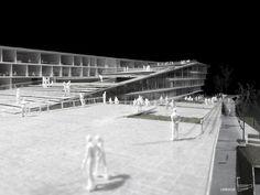 SUPSI Campus Project / Kengo Kuma
