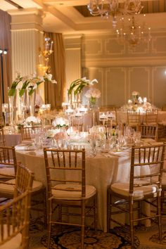Santa Monica Wedding at Hotel Casa del Mar from Katelyn James Photography - Style Me Pretty Reception Table, Wedding Reception Decorations, Wedding Centerpieces, Table Decorations, Wedding Decor, Modern Centerpieces, Reception Ideas, Wedding Bells, Wedding Events