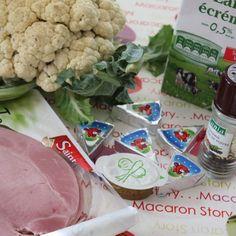 Recette Gratin chou-fleur vache qui rit et jambon par Marina.S - recette de la catégorie Plat principal - divers