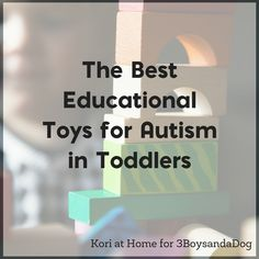 Autism in toddlers happens more often than people realize. But how can parents help? It can be as simple as having the right types of toys on hand. Here are just a few of the best education toddler toys for early autism.