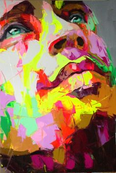 Drawing Portraits - Franoise Nielly - Artist :: Gallery - Discover The Secrets Of Drawing Realistic Pencil Portraits.Let Me Show You How You Too Can Draw Realistic Pencil Portraits With My Truly Step-by-Step Guide. L'art Du Portrait, Abstract Portrait, Pencil Portrait, Arte Pop, Art Visage, Arte Country, Art Drawings, Drawing Portraits, Painting & Drawing