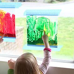 Mess-Free Art: Stained Glass Window Painting | eHow Mom | eHow