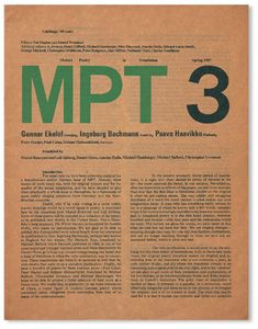 Richard Hollis - Modern Poetry in Translation 1967