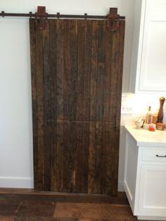 Reclaimed/Recycled/Re-purposed Barn Door