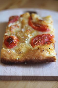 My Favorite Food, Favorite Recipes, Focaccia Pizza, Pizza Dough, I Love Food, Italian Recipes, Quiche, Food Porn, Food And Drink