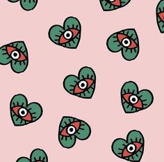 Surface Pattern, Pattern Art, Pattern Design, Eye Pattern, Textile Patterns, Print Patterns, Pattern Illustration, Repeating Patterns, Iphone Wallpaper