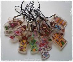 shrink plastic pendants by Kraftarije https://www.facebook.com/Kraftarije