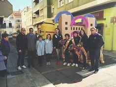 Amb la falla de l'Associació de persones Sordes de #Gandia.  http://www.josemanuelprieto.es
