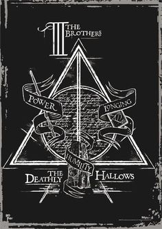 Harry Potter (Deathly Hallows - The Brothers) MightyPrint Wall Art