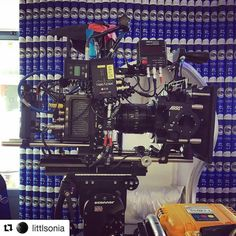 #Repost @littlsonia of a #camera #build we had yesterday for a makeup commercial. She's always fun to work with! (Sonia.. Not the mini) __________________________________ #1ac #dop #focuspuller #arri #alexa #onset #bts #cameragear #2ndac #clapperloader #alexamini #setlife #camcrew #filmcrew #assistantcamera
