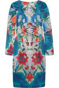 TEMPERLEY LONDON Lotus printed cotton and silk-blend dress, £1,500.00