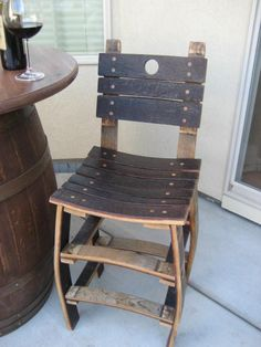 Items similar to Vintage Handmade Eco-Friendly Wine Barrel Stool, with back or no back on Etsy Wine Barrel Diy, Wine Barrel Chairs, Whiskey Barrel Furniture, Barrel Bar, Wine Barrels, Bourbon Barrel, Barrel Projects, Wood Projects, Handmade Furniture