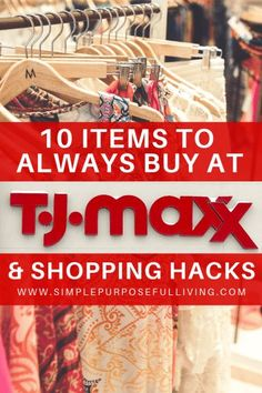 8123ba8bf2 10 Items to Always Buy at TJ Maxx + TJ Maxx Shopping Hacks