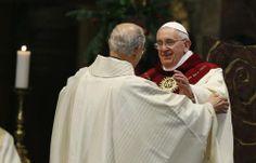 Pape François - Pope Francis - Papa Francesco - Papa Francisco - Messe à l'église del Gesu en la fête du St Nom de Jésus -