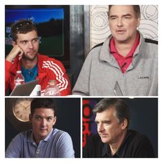 """Norm and friends """"normcast"""" the US Open Norm Macdonald, Interview, Polo Shirt, Live, Friends, Mens Tops, Fashion, Amigos, Moda"""