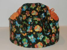 Boy Owl Buddy Print Gumbo Bumbo Seat Cover  Ready to by gumbobaby, $26.00