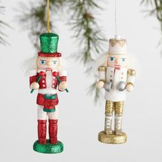 Set of 2 Red 6.5 Nutcrackers Perfect for Seafood
