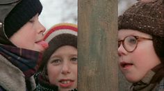 "Classic Film and TV Café: A Fudging Good Time in Bob Clark's ""A Christmas Story"" Classic Holiday Movies, Classic Films, 12 Days Of Christmas, A Christmas Story, What Is Like, Clarks, Tv Shows, Winter Hats, Bob"