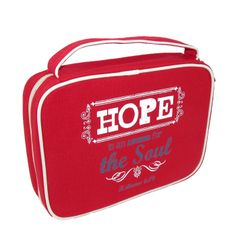 Christian Art Hope Bible Cover. Fits books and Bibles measuring 9.5 x 7 x 2 inches $15.95
