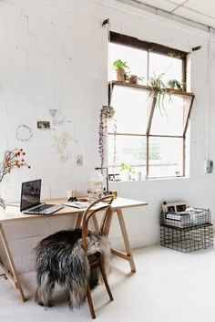 Home Office Ideas | Dunndiy.com | #inspiration #dunndiy #makeityours