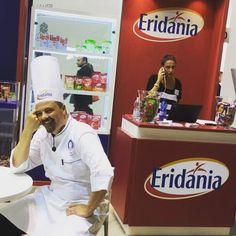 #TuttoFood2015 un maestro dal dolce sorriso per creazioni dal gusto indimenticabile! :) #StefanKrueger #Chef #pastry #pastrylab #italy #Eridania #food #instaChef