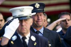 """The funeral for World Trade Center victim Father Mychal Judge, was the first public mourning for a victim of"