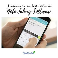 Like your own brain, NotePond is private and can be access anytime, anywhere. No one should be able to read your mind or take a peek inside your memory!