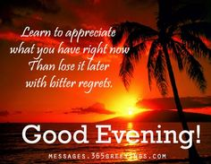 Wishes Evening