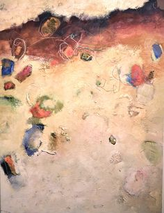 """Alayne Spafford, fortythree - 89, Mixed media on canvas, 36"""" x 48"""" www.musegallery.ca"""