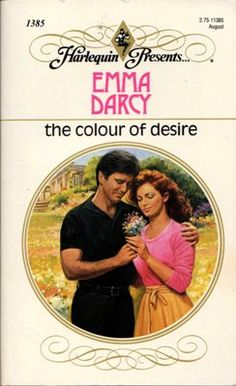 The Colour Of Desire by Emma Darcy Harlequin Presents 0373113854 Romance Novel Covers, Romance Books, Romance Art, Reasons For Marriage, Used Books, Books To Read, Harlequin Romance Novels, Carole Mortimer, Vintage Romance
