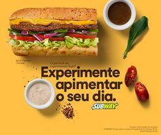 SUBWAY Brasil on Behance