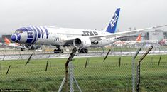 Here they come!The Star Wars cast touched down at London's Gatwick airport ahead of their...