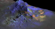 A NASA spacecraft has discovered glass on the surface of Mars for the first time, a finding that could help in the hunt for past Martian life.