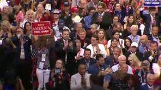 Laura Ingraham, businessman Phil Ruffin and Florida Attorney General Pam Bondi speak at the Republican National Convention.