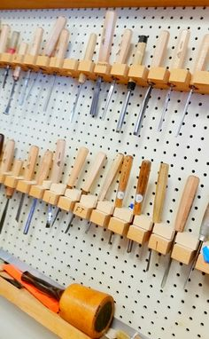 In the shop pick your chisel...