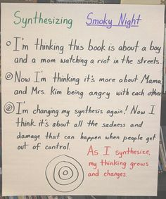 Synthesizing Charts and Lessons